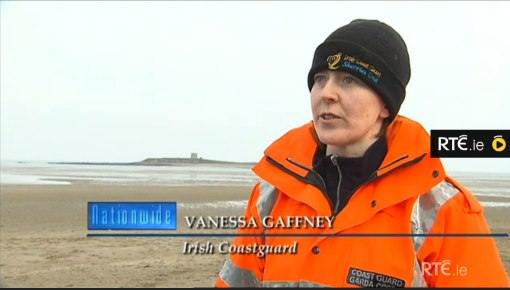Skerries Coast Guard RTE nationwide April 2013