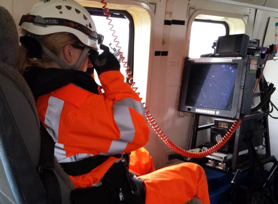 FLIR console Skerries Coast Guard