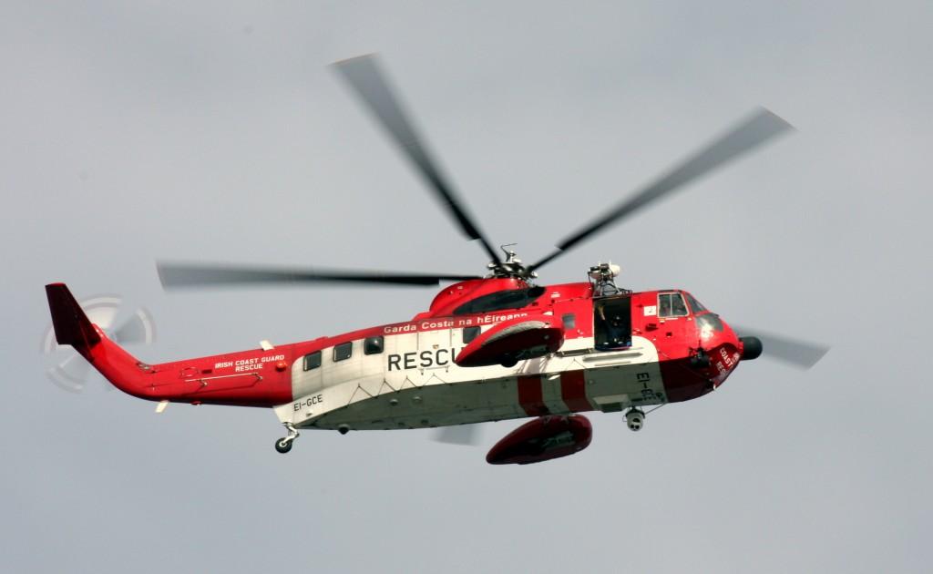 Coast Guard heli flyover Sept 2013
