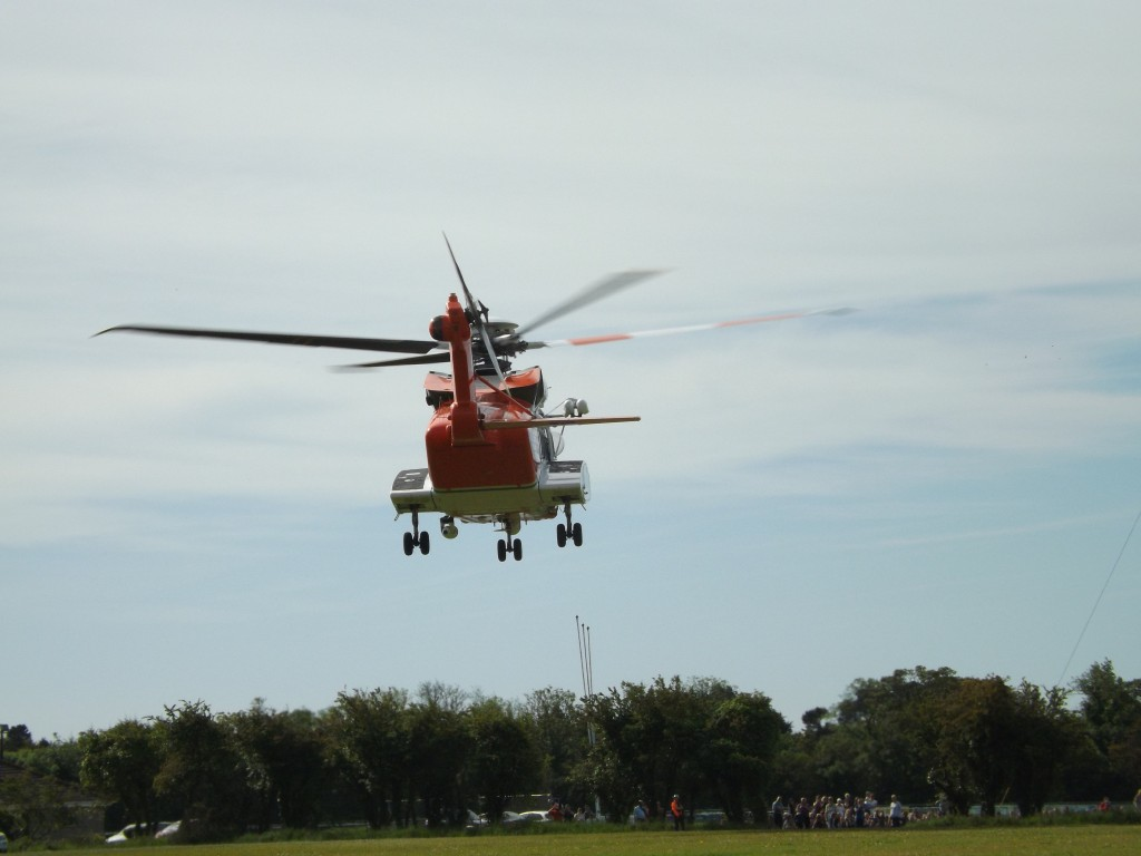 Donabate heli Skerries CGU