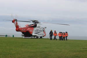 Skerries Coast Guard - heli training