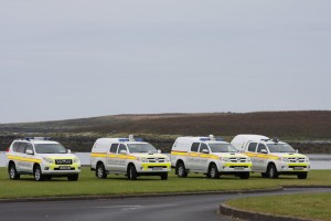 Skerries & Clogherhead Coast Guard vehicles