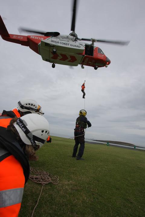 Skerries Coast Guard winch 2