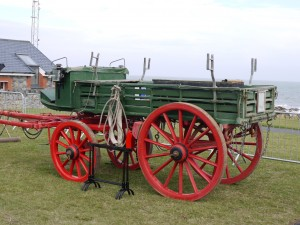 Skerries Coast Guard Rocket Cart